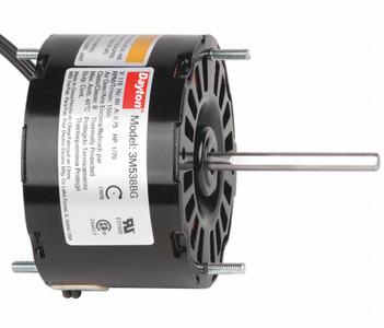 "1/70 hp, 1550 RPM, 115 Volt, 3.3"" diameter Dayton Electric Motor Model 3M538"