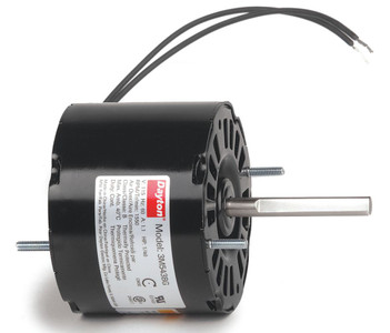 "1/40 hp, 1550 RPM, 115 Volt, 3.3"" diameter Dayton Electric Motor Model 3M543"