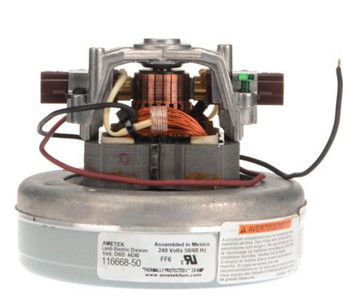 Ametek Lamb Vacuum Blower / Motor 240 Volts 116668-50