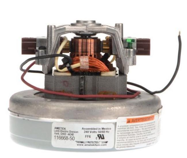 Ametek Lamb Vacuum Blower Motor 240 Volts 116668 50