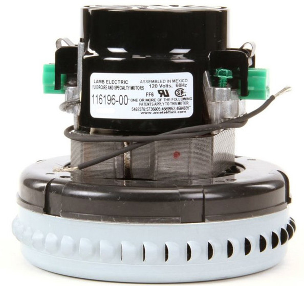 Ametek lamb vacuum blower motor 120 volts 116196 00 for Lamb electric blower motors