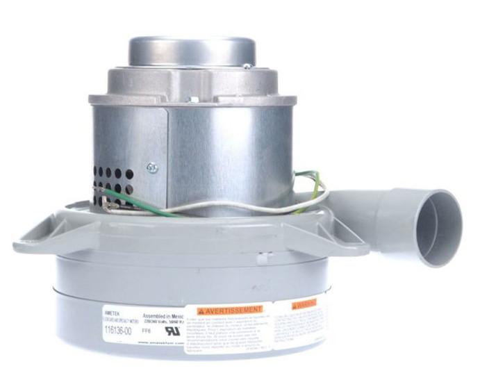 Ametek Lamb Vacuum Blower Motor 240 Volts 116136 00