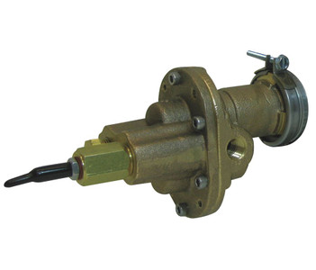 "Rotary Gear Pumps - Carbonator Mount - 1/3hp motor required 1/4"" port size Bronze # 4KHP8"