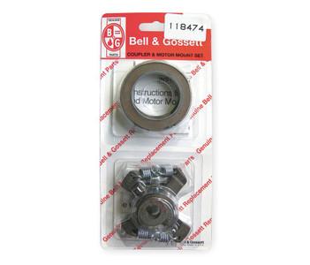 """118474 Bell & Gossett Coupler Assembly Size: 1/2"""" x 1/2"""" with Motor Mount Rings"""