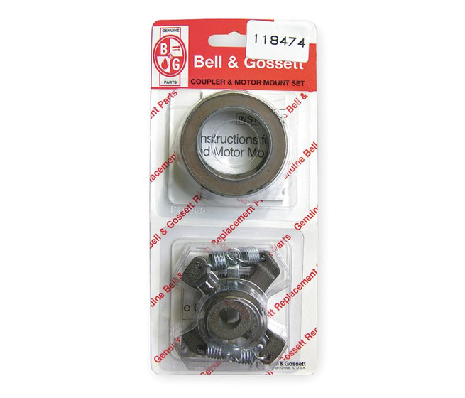 118474 bell gossett coupler assembly size 1 2 x 1 2 for Bell gossett motors