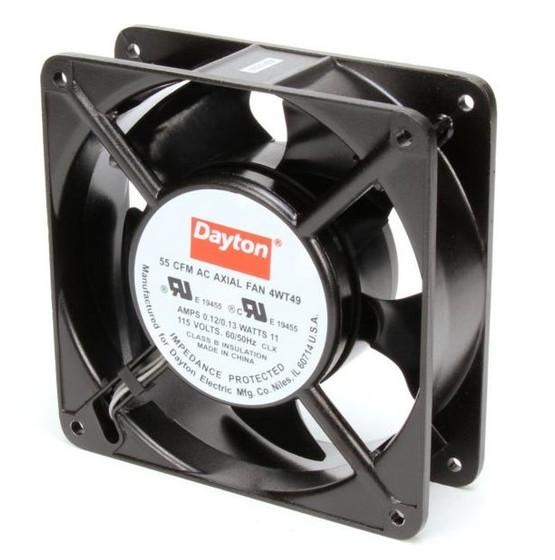 Dayton Ac Axial Fans : Dayton axial fan volts ac watts cfm model wt