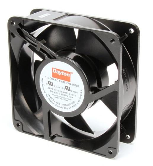 Dayton Axial Fans : Dayton axial fan volts ac watts cfm model rtd