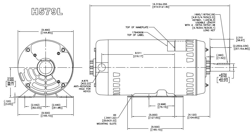 H579L__52751.1458126723.1280.1280?c=2 carrier (hd60fk652) electric motor 5 hp 1725 rpm 208 230 460v 2 Speed Motor Wiring Diagram at aneh.co