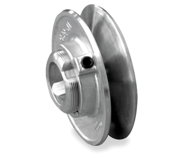 Fixed Pulley Equation : Quot single groove fixed bore variable pitch die cast pulley
