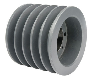"6.40"" OD Five Groove Pulley / Sheave for ""C"" Style V-Belt (bushing not included) # 5C60-SK"