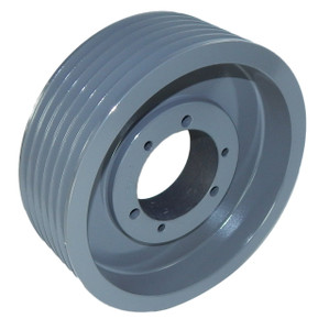 "4.90"" OD Six Groove Pulley / Sheave for 5V V-Belt (bushing not included) # 6-5V490-SD"