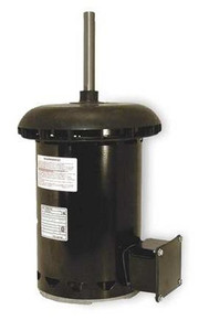 "Condenser Fan Motor 5 5/8"" Dia, 1 hp, 1075 RPM 200-230/460V Single Phase Century # FC1106F"