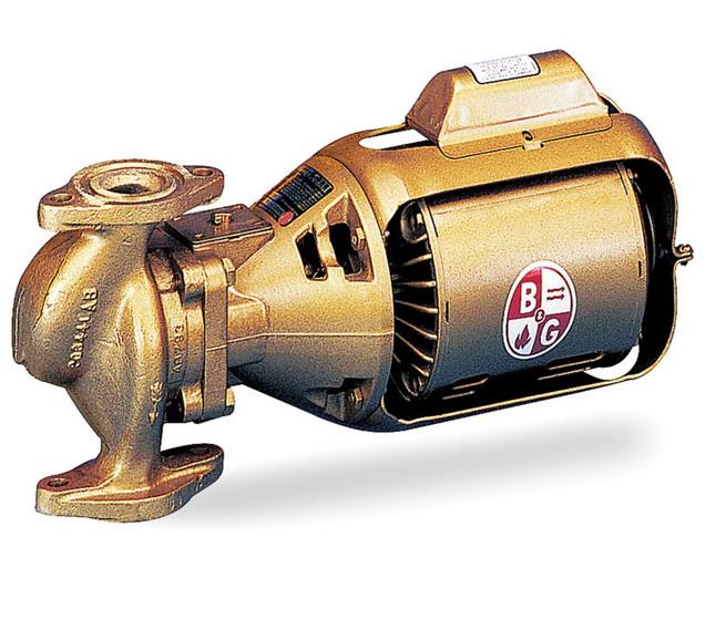 Bell gossett circulating pump series 100 model 100 bnfi for Bell gossett motors