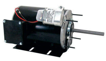 Condenser Fan Motor Single Phase - Resilient Base 1 hp, 1075 RPM, 208-230/460V Century # FB1106