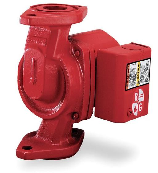 Bell gossett hot water circulator pump model nrf 22 115v for Bell gossett motors