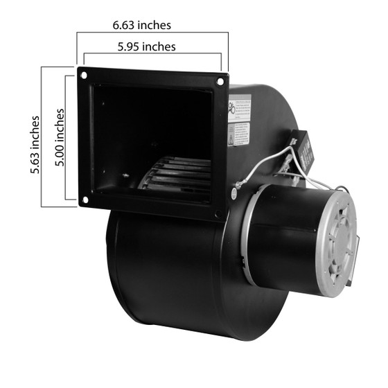 Dayton Electric Blowers : R rb rotom replacement blower cfm for dayton c
