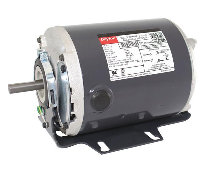 1 3 Hp 1725 Rpm 115v Whole House Fan Motor Dayton 3k384