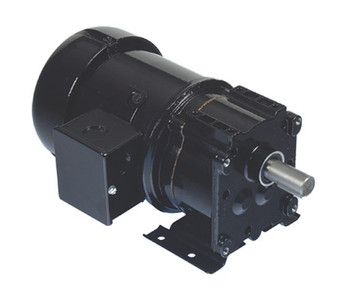 Bison Model 017-247-0028 Inverter Duty Gear Motor 1/4 hp 62 RPM 230V