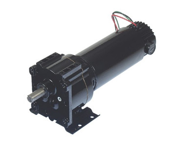 Bison Model 011-336-2082 Gear Motor 1/8 hp 22 RPM 90/130VDC
