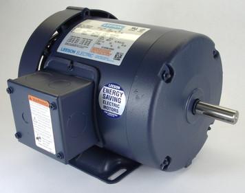 1 hp 3450 RPM 56 Frame TEFC 575V Leeson #  110715
