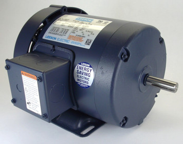 2 hp 3450 RPM 145T Frame TEFC 575V Leeson # 121941