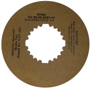 Stearns Brake Friction Disc (8-004-725-00) Replacement # 5-66-8483-00