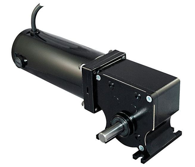 Dayton 12 Volt Dc Right Angle Gear Motor 1  8 Hp 150 Rpm