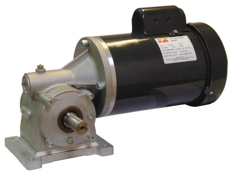 Dayton gear motor 3 4 hp 56 rpm 115 208 230 volt 60 hz 4cvz1 for 4 rpm gear motor