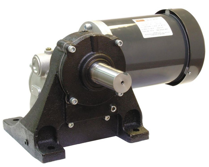 Dayton washdown parallel shaft gear motor 1 20 hp 5 rpm 90 for 90 volt dc motor