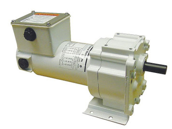 Dayton Washdown Parallel Shaft Gear Motor 1/8 hp 94 RPM 90 Volt DC # 5CJC0
