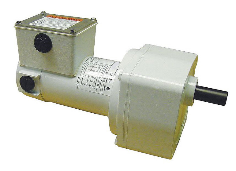Dayton Washdown Parallel Shaft Gear Motor 1  4 Hp 250 Rpm 90 Volt Dc   5cjc5
