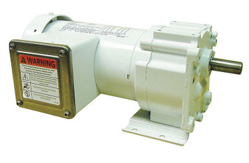 Dayton Washdown Parallel Shaft Gear Motor 1/6 hp 16 RPM 115/230 Volts # 5CJD2