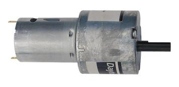Dayton Miniature Parallel Shaft Gear Motor 2 RPM 12 Volt DC # 5VXV0