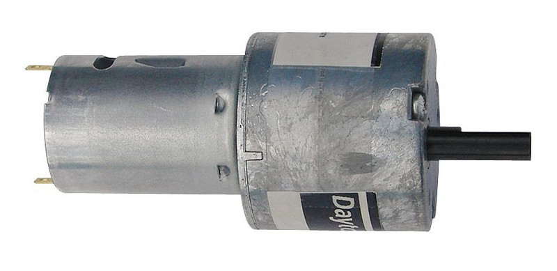 Dayton Miniature Parallel Shaft Gear Motor 115 Rpm 24 Volt Dc 5vxw7