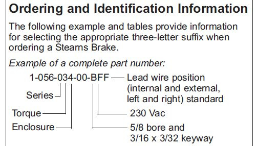 Previous ...  sc 1 st  Electric Motor Warehouse : stearns brake coil wiring - yogabreezes.com