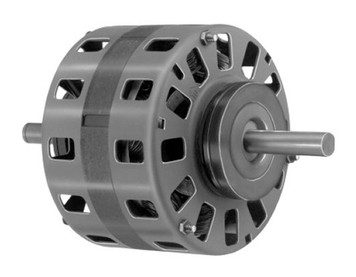 hvac replacement motors for furnaces air conditioners heat pumps 1 10 hp 1050 rpm 2 speed 5 diameter 230 volts fedders