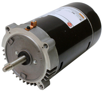 1 hp 3450 RPM 56J 115/230V Swimming Pool Pump Motor - US Electric Motor # EUST1102