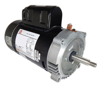 2 hp 3450 RPM 56J 115/230V Swimming Pool Pump Motor - US Electric Motor # EUST1202