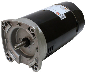 3/4 hp 2-Speed 56Y Frame 230V Square Flange Pool Motor US Electric Motor # EB980
