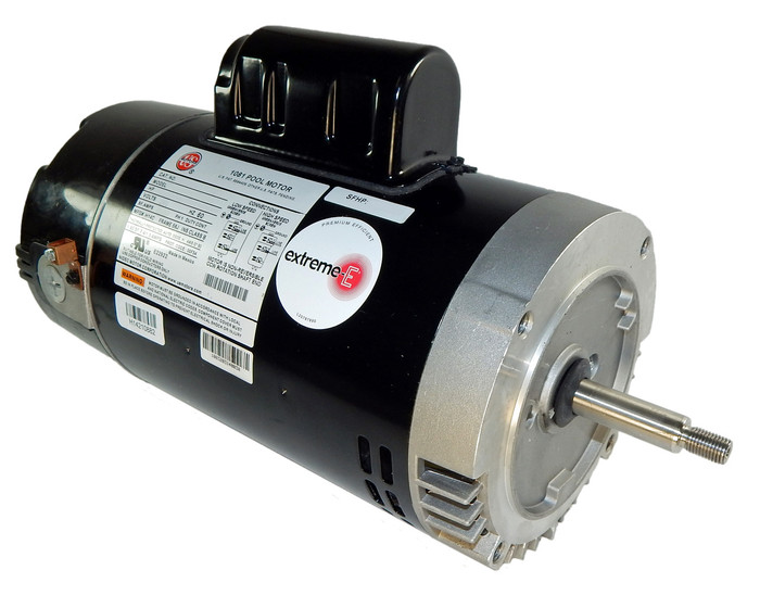 3 4 hp 2 speed 56j frame 115v 2 speed swimming pool motor for Two speed electric motor
