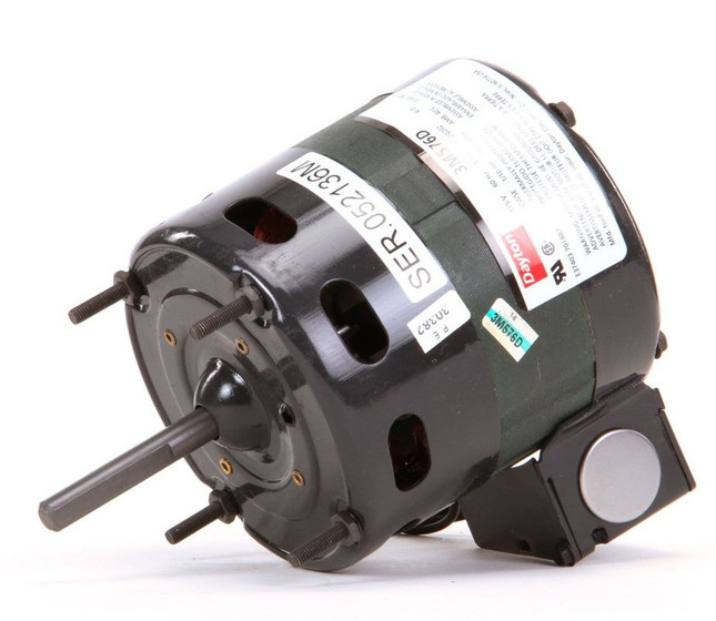 4 4 fan motor 1 10 hp 1550 rpm cwse 115v dayton 3m576 for Dayton electric fan motors