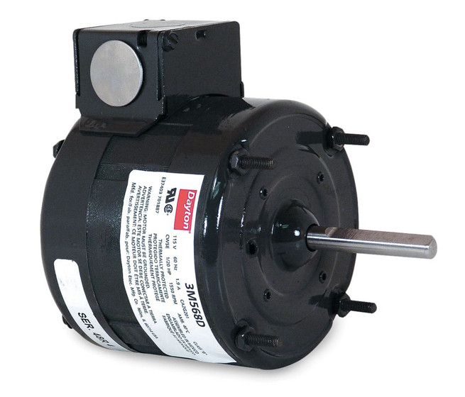 4 4 Fan Motor 1 20 Hp 1550 Rpm 1 Spd Cwse 115v Tenv
