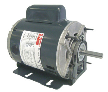 1/3 hp 1725 RPM 115/208-230V Belt Drive Hi-Temp Cap-Start Motor Dayton # 4VAG5