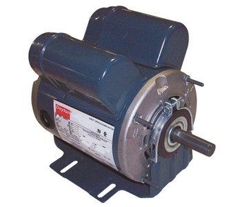 1 hp 1725 RPM 115/208-230V Belt Drive Hi-Temp Cap-Start/run Motor Dayton # 4VAG8