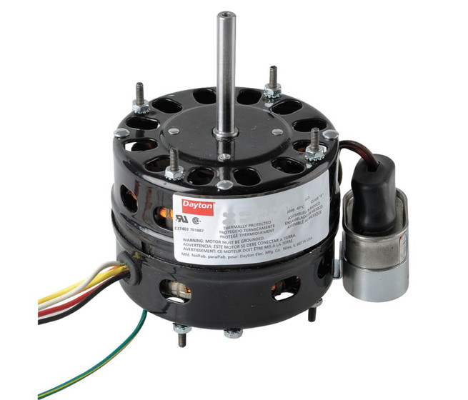 1 10 Hp 1625 Rpm 115v 4 4 Diameter Open Psc Fan Motor