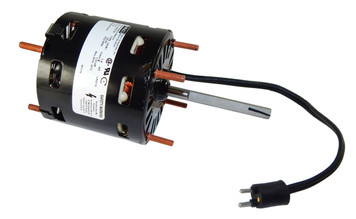 "1/20 hp 1550 RPM CW 3.3"" Diameter 115 Volts Refrigeration Motor Fasco # D1124"