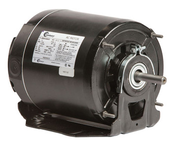 1/2 hp 1725 RPM 56Z Frame 115/230V Belt Drive Blower Motor Ball Brg Century # RB2054DV3