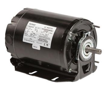 1/3 hp 1725 RPM 2-SPD 48 Frame 115V Belt Drive Blower Motor Ball Brg Century # 925AL