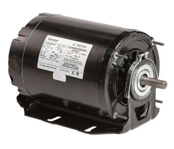 1/3 hp 1725 RPM 2-SPD 48Z Frame 115V Belt Drive Blower Motor Ball Brg Century # 925L
