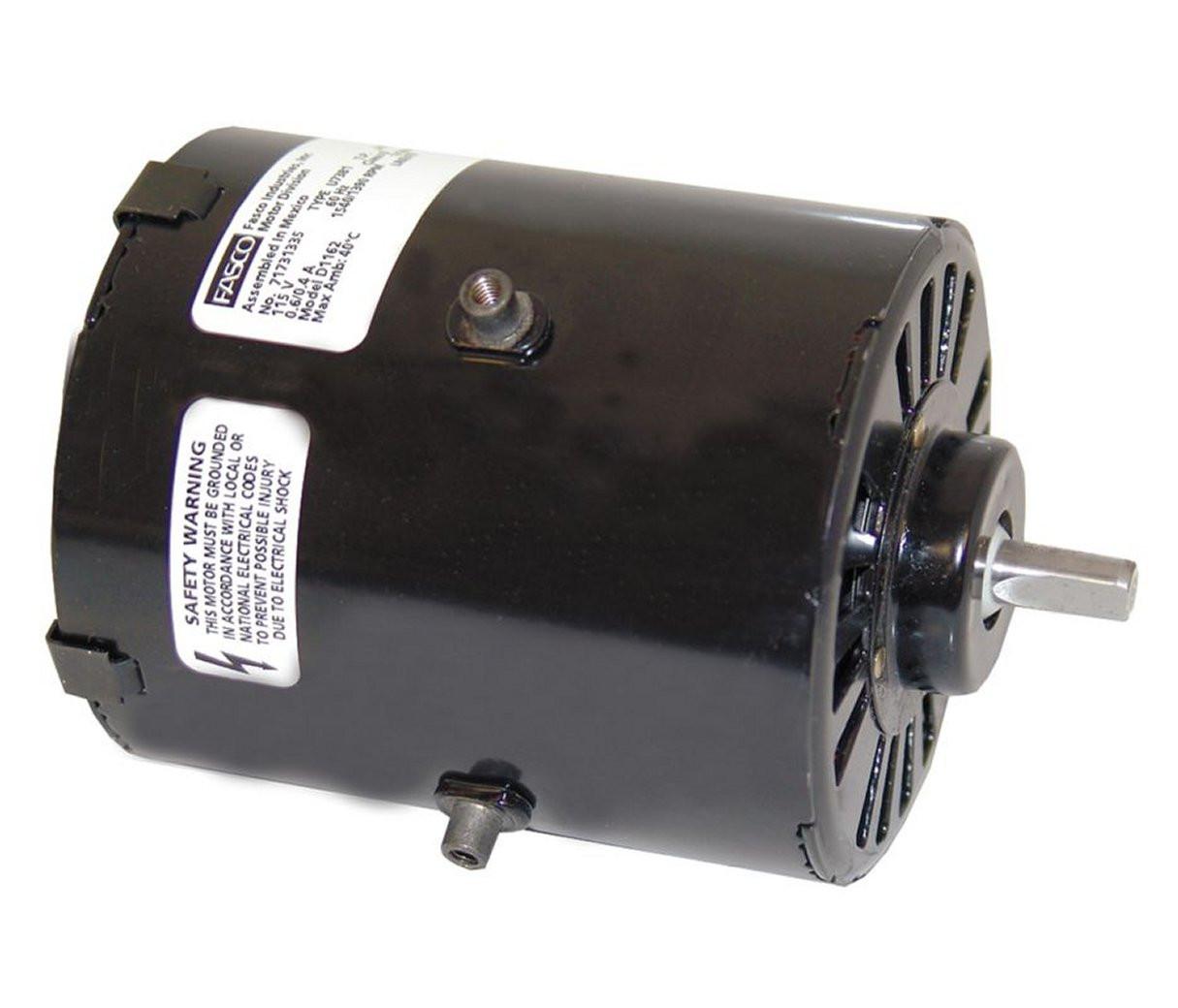1 100 hp 1500 RPM 3 3  diameter 115 Volts Fasco   D1162. Nutone Broan Replacement Fan Motors   Electric Motor Warehouse